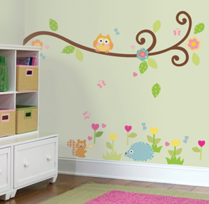 Kids' Rooms – 5 Tips for Decorating with Decals