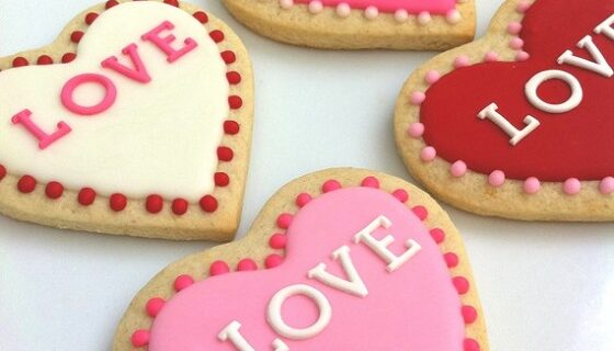 Heart Shaped Cookies Recipes For Valentine's Day