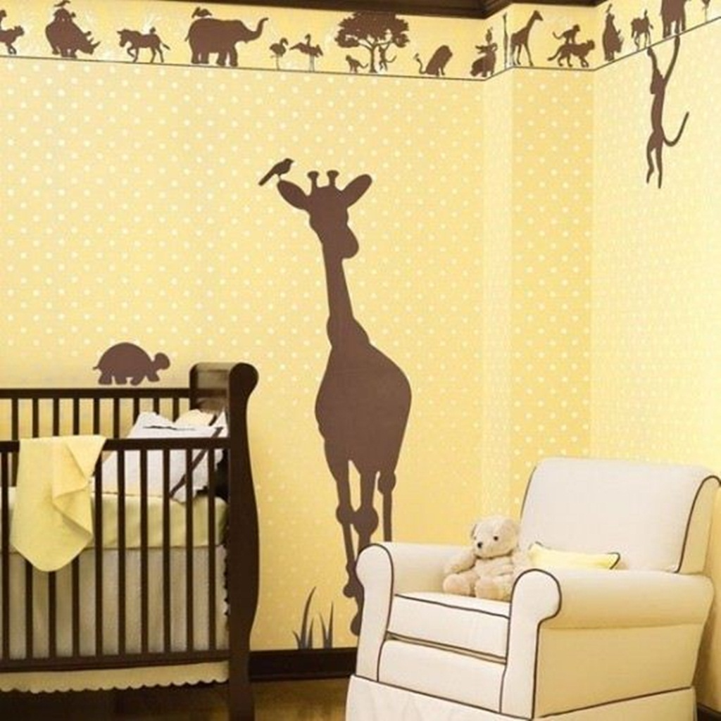 painting-the-walls-ideas-designs-cool-jungle-kids-bedroom-paint-the