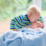 Things to do with your Toddler when you have a New-Born