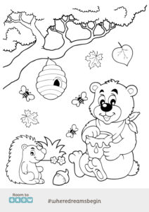 Colour in Bear