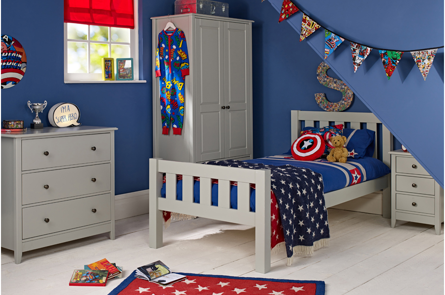 Marvel Superhero themed bedroom