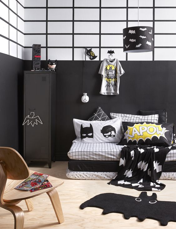 Batman and Robin Bedroom Furniture