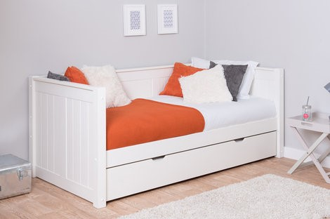 Stompa CK White Day Bed