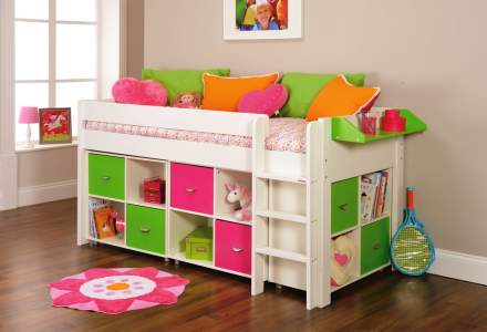 Girls' Cabin Beds   Room to Grow
