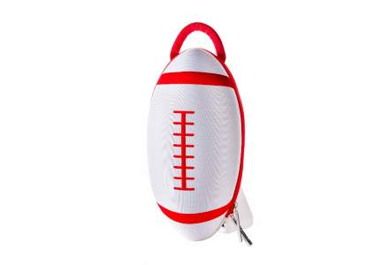 white rugby bag