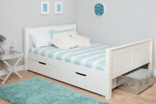 Stompa CK Small Double Bed with Drawers