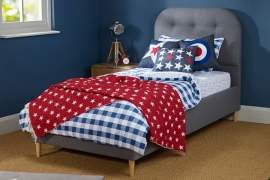 Hoxton Single Upholstered Bed