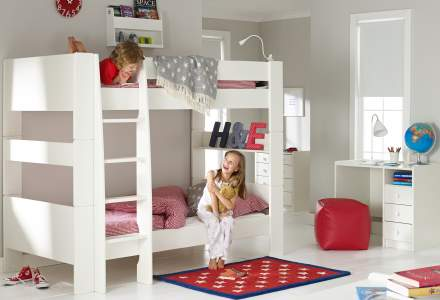 Girls Bunk Beds Room To Grow