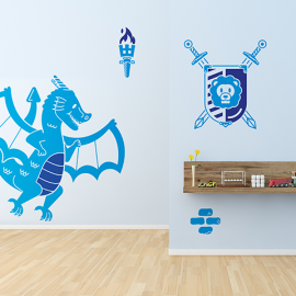 Wall Stickers Knights
