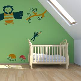 Wall Stickers Woodland Friends