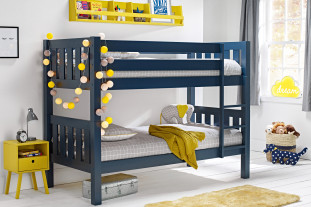 Jubilee midnight blue bunk bed