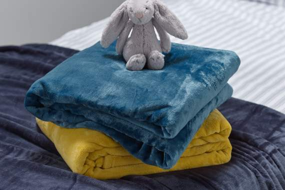 Flannel throws