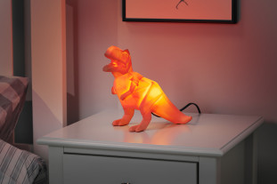 orange t-rex light