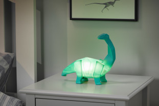green dinosaur light