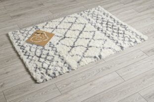 Aztec Cream & Grey Rug